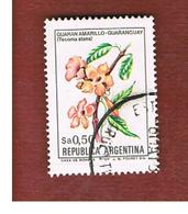 ARGENTINA - SG 1824  - 1983  FLOWERS:  TECOMA STANS -   USED ° - Argentina