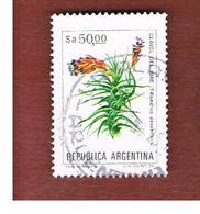 ARGENTINA - SG 1833  - 1983  FLOWERS:  TILLANDSIA AERANTHOS  -   USED ° - Argentina