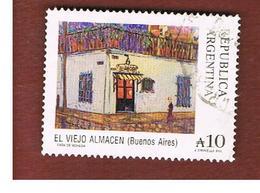 ARGENTINA - SG 2092a  - 1988 HISTORICAL SITES: EL VIEJO ALMACEN  (WITH  EL BEFORE VIEJO)  -    USED ° - Argentina