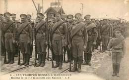 080918 - 13 MARSEILLE - MILITARIA RUSSIE - Troupes Russes - Kostia La Petite Mascotte Des Russes - Marsiglia