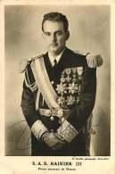 080918 - ROYAUTE SAS RAINIER III - MONACO - Autographe ? - Photo G DETAILLE MONTE CARLO - Familles Royales
