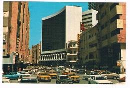 ASIA-1390  JEDDAH : King Abdul Aziz Street - Saudi Arabia