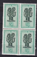 Belgisch Kongo - Congo Belge    Nr 287A  Bloc 4 Timbres:          Neufs - Postfris - MNH  (xx) - Congo Belge
