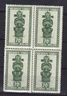 Belgisch Kongo - Congo Belge    Nr 283  Bloc 4 Timbres:              Neufs - Postfris - MNH    (xx) - Congo Belge