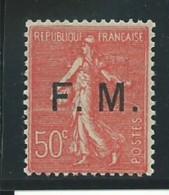 FRANCE: **, FM N°6, Bon Centrage, TB - Militärpostmarken