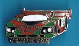 PIN'S //  ** LE MANS / 1991 / MAZDA / 787 B. N° 55 / PILOTES Volker WEIDLER / Johnny HERBERT & Bertrand GACHOT ** - F1
