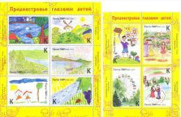 2013. Transnistria, Childrens Drawings, 2 S/s, Mint/** - Moldova