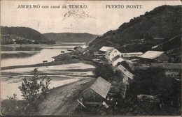 ! Alte Ansichtskarte Puerto Montt, Chile - Chili
