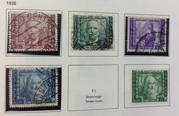 Italie PA N° 107 à 112 De 1938 Manque N° 111 POSTE AERIENNE - 1900-44 Victor Emmanuel III