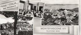 MONTEFIASCONE VITERBO HOTEL ITALIA BAR RISTORANTE FRANCOBOLLO STRAPPATO - Viterbo