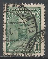 Colombia 1939. Scott #467 (U) Bolivar * - Colombie