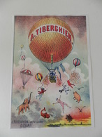 Affichette A. Tiberghien - Aéronaute - Douai - Affiches