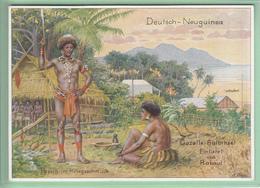 Sonderstempel Dresden Deutsche Kolonial-Ausstellung 1939 Auf AK Deutsche-Neuguinea # Papua # Reichskolonialbund - Germania