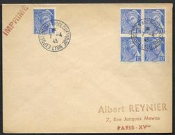 Exposition Antibolchevique  Lyon - - Marcophilie (Lettres)