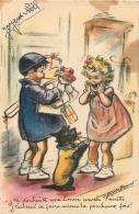 GERMAINE BOURET  EDITION MD  SANS NUMERO J'TE SOUHAITE UNE BONNE ANNEE NENETTE - Bouret, Germaine