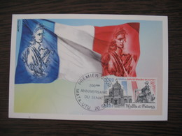 Carte Maximum - Card  Wallis Et Futuna  1999   Mata-Utu - Covers & Documents