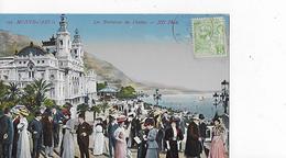 3 Cpa Monte-Carlo : Kiosque, Casino, Terrasses - Monaco