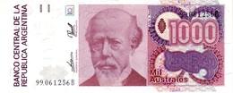 Argentina P.329 1000 Australes 1990  Unc - Argentina
