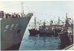 COREE DU NORD - Les Bateaux En Partance - Korea, North