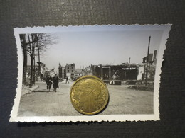Le Havre - Photo Originale - Rue Jules Siegfried   - Bombardement 5 Septembre 1944 - TBE - - Plaatsen