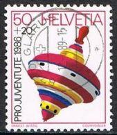 Switzerland SG J296 1986 Pro Juventute 50c+20c Good/fine Used [17/15759/7D] - Pro Juventute