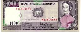 Bolivia P.167 100 0 Bolivians 1982  Unc - Bolivia