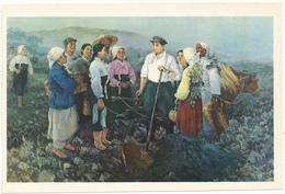 COREE DU NORD - Le Camarade Kim Il Sung Parmi Les Paysans - Korea, North