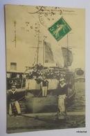 MARINE MILITAIRE FRANCAISE-SABRETACHE-Contre Torpilleur - Warships
