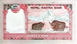 Nepal P.69  5 Rupees 2012  Unc - Nepal