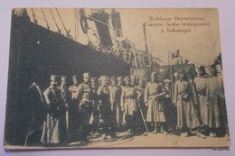 L'armée Serbe Transportée à Salonique - Griechenland