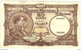 Belgium 20 Francs 21.5.1928 - [ 2] 1831-... : Koninkrijk België