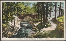 Scene At Westmount Park, Montreal, Quebec, C.1910s - International Fine Art Co Postcard - Montreal