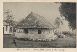 OCEANIE ILES WALLIS LANO Une Case Indigène Servant De Grand Séminaire - Wallis And Futuna