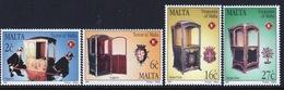 Malta 1997 Set Of Stamps To Celebrate Treasures Of Malta Sedan Chairs. - Malta