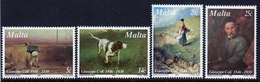 Malta 1996 Set Of Stamps To Celebrate 150th Birth Anniversary Of Guiseppe Cali (Painter). - Malta