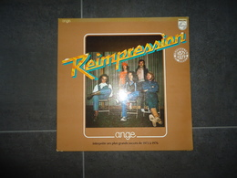 33 T ANGE REIMPRESSION  VOIR PHOTOS - Vinyl Records