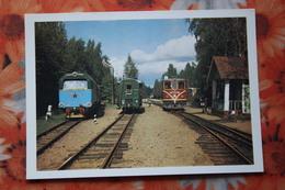 OKTYABRSKAYA RAILWAY - Children Railway Station -  Train - Locomotive - Trenes