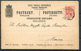 Finland Stationery Postcard - Nikolaistad - 1856-1917 Russian Government