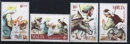 Malta 1997 Set Of Stamps To Celebrate Christmas. - Malta
