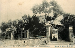 China Chine - The Consulate Of U.S.A. In Chefoo - AA85 - Chine