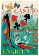 Illustrateur J. L. Perrigault - Enghien Les Bains -Casino Musique Et Musiciens-Mozart- Cartes à Jouer -Autographe -Signé - Illustratoren & Fotografen