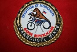 AUTHENTIQUE ECUSSON DE LA GARDE REPUBLICAINEE - Police & Gendarmerie