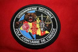 AUTHENTIQUE ECUSSON DE LA GENDARMERIE NATIONALE - Police & Gendarmerie