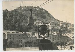 GRENOBLE - Gare Et Départ Du Téléférique (1960) - Grenoble