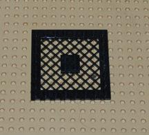 Lego Grille Noire 8x8 Ref 4151b - Lego Technic