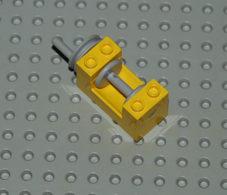 Lego Treuil Jaune 2x4x2 Ref 73037 - Lego Technic
