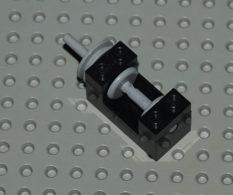 Lego Treuil Noir 2x4x2 Ref 73037 - Lego Technic