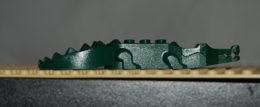 Lego Crocodile Vert Foncé A 8 Dents Ref 6026c01 - Lego Technic
