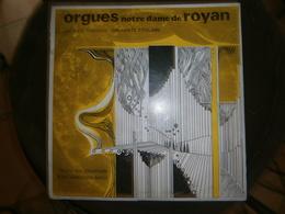 33 T   ORGUES NOTRE DAME DE ROYAN - Instrumental