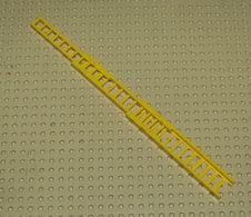 Lego Echelle 10.3cm Jaune 3 Pieces Assemblage Complet Ref 850c01 - Lego Technic